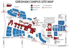 Clark College Map Gresham Campus Maps