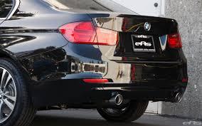 Bmw I8 Exhaust - bmw activehybrid 3 gets borla exhaust sounds great video