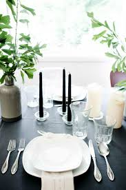 scandinavian inspired summer tablescape thou swell
