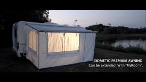 Rv Awning Screen Room Dometic Automatic Awning Video 2012 From Southdowns Motorhomes