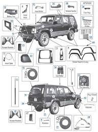 1994 jeep grand accessories xj parts 4 wheel parts