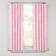 Ruffled Curtains Pink Land Of Nod Ruffle Curtains Eshcol Co
