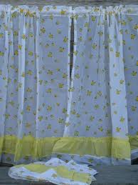 Retro Kitchen Curtains 1950s by Vintage Curtains Drapes U0026 Drapery Fabric U0026 Hardware