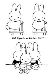 miffy free coloring pages on art coloring pages