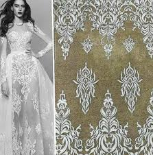 124 best 3d lace fabric images on wedding lace dress