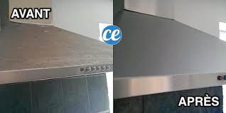 comment nettoyer la hotte de cuisine l astuce magique pour dégraisser une hotte en inox facilement