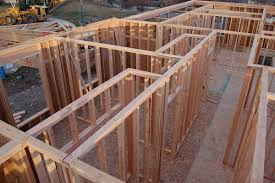 wood framed wall framing a exterior wall frame interior wall