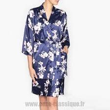 robe de chambre la redoute fleuri kimono fleuri fleuri la redoute collections robe de chambre