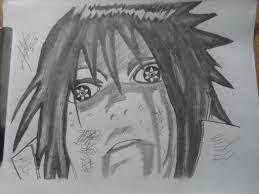 anime character drawing sasuke uchiha u2014 steemit