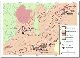 Tuscany Italy Map Sustainability Free Full Text The Vie Cave Geomorphological