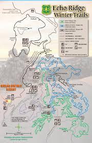 Chelan Washington Map by Uncle Tim U0027s Toys Echo Ridge Xc Ski And Snowmobile Trails Map At
