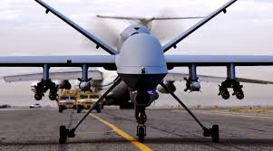 uav actual mq 9 reaper 3d printed replicas at sheppard afb
