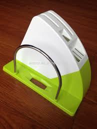 new design plastic kitchen knife holder with pot lid holder