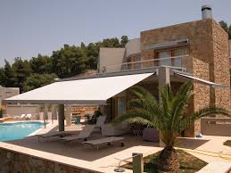 Retractable Awning For Deck Modern Retractable Deck Awnings Doherty House The Best
