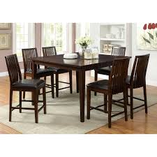 Hokku Designs Dining Set by Dining Room Elegant Dining Furniture Design With 7 Piece Counter