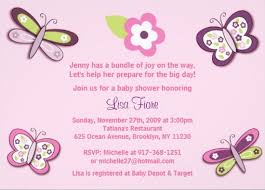 Butterfly Invitations Pink Butterfly Invitation Template