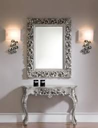 foyer mirrors mirrors and tables fancy foyer console and mirror entryway in