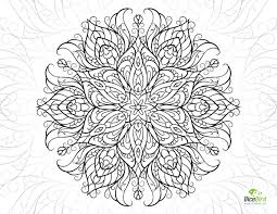 beauty free printable coloring pages for adults to print