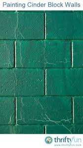 how to paint the block walls in a basement block wall basements