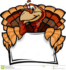 happy thanksgiving signs happy thanksgiving turkey holding sign royalty free stock