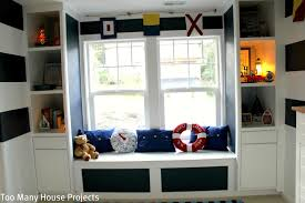 Big Lots Bookshelves by Too Many House Projects A Nautical Big Boy Room