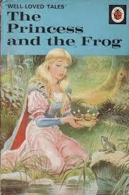 princess frog ladybird books loved tales matt 1975