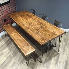 Handmade Kitchen Table by Best 25 Pallet Dining Tables Ideas On Pinterest Table And Bench