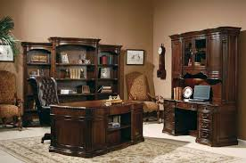 Desk Sets For Home Office Brilliant Home Office Executive Desk Sets Walnut Burl Within