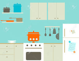 kitchen royalty free cliparts vectors and stock illustration