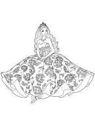 barbie coloring pages girls fashion coloring
