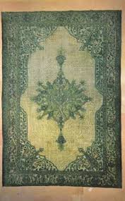 Emerald Green Area Rug Emerald Green Medallion Floral Vintage Turkish Rug By Bazaarbayar