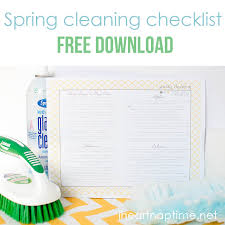 Spring Cleaning Tips Spring Cleaning Tips Free Printable I Heart Nap Time