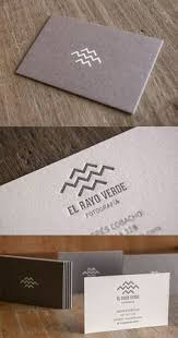 Company Message On Business Cards Deeply Embossed White Letterpress Business Card Design Business