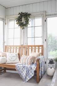 Fall Decorated Porches - simple farmhouse front porch farmhouse front porches farmhouse