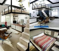 bett im wohnzimmer die kleine wohnung einrichten mit hochhbett freshouse