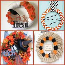 Halloween Wreaths Using Deco Mesh by Exquisite Halloween Wreath Craft Project Best Moment Halloween