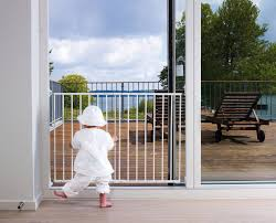 Child Proof Gates For Stairs Amazon Com Babydan Multidan Extending Metal Safety Gate White