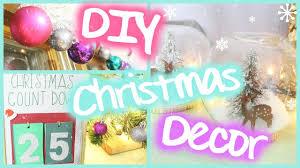 diy christmas room decor easy u0026 festive youtube