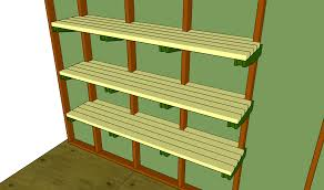 small garage shelf plans material designing garage shelf plans