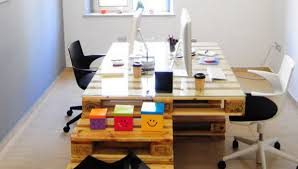 palette bureau bureau en palette