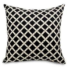 shop black bamboo large outdoor pillow majestic home goods