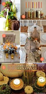 diy it thanksgiving centerpieces with candles unique wedding