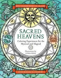 zodiac color sacred heavens zodiac coloring book u2014 lydia hess illustration
