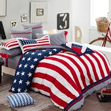American Flag Bed Set Bedroom Angelic Design Ideas Using Red Standing Lamps And
