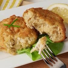 cuisine le gal sea foods 3 oz gluten free crab cakes with lump crab