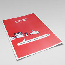 modern toss periodic table of swearing customer services kitchen riso print