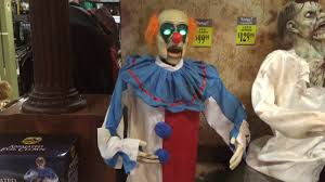 spirit halloween 2016 animated evil clown youtube
