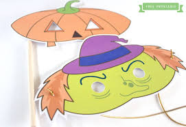 Free Printable Halloween Mask Templates by Free Printable Halloween Kids Masks