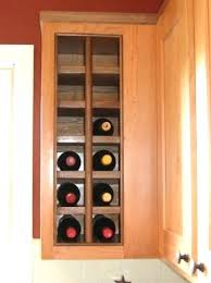 Kitchen Cabinet Wine Rack Ideas Shelf With Wine Rack Wine Shelf Rustic Wine Racks Cabinet