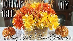 home decor flower diy dollar tree bling fall centerpiece diy glam fall decor